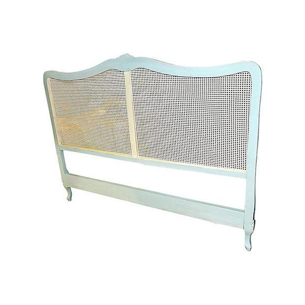 French Country French Country California King Headboard For Sale - Image 3 of 7