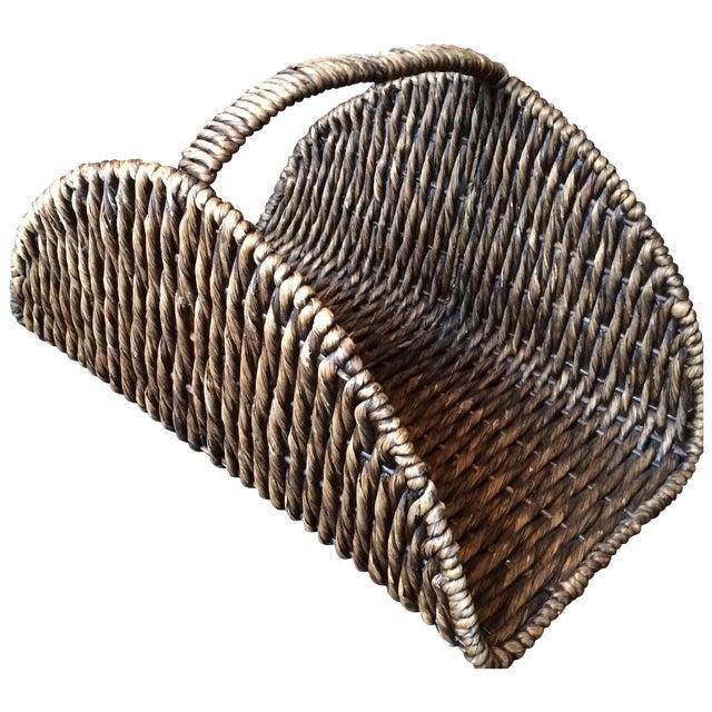 Wicker Log Basket - Image 1 of 6