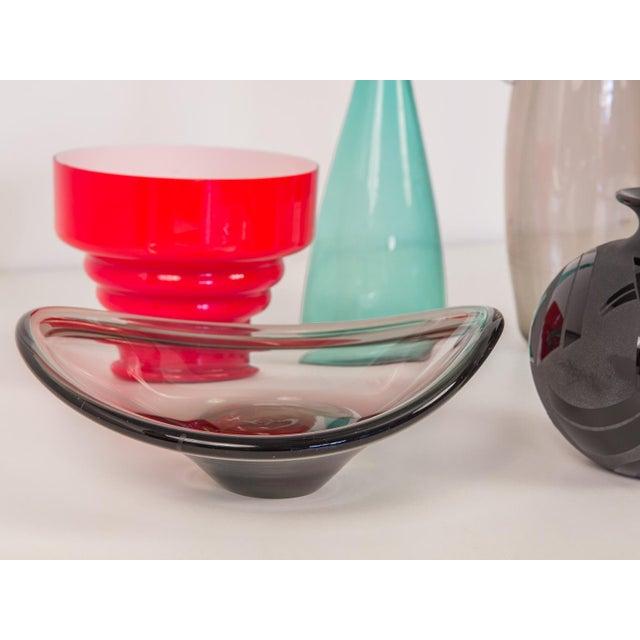 Glass Small Biomorphic Smoke Bowl For Sale - Image 7 of 8