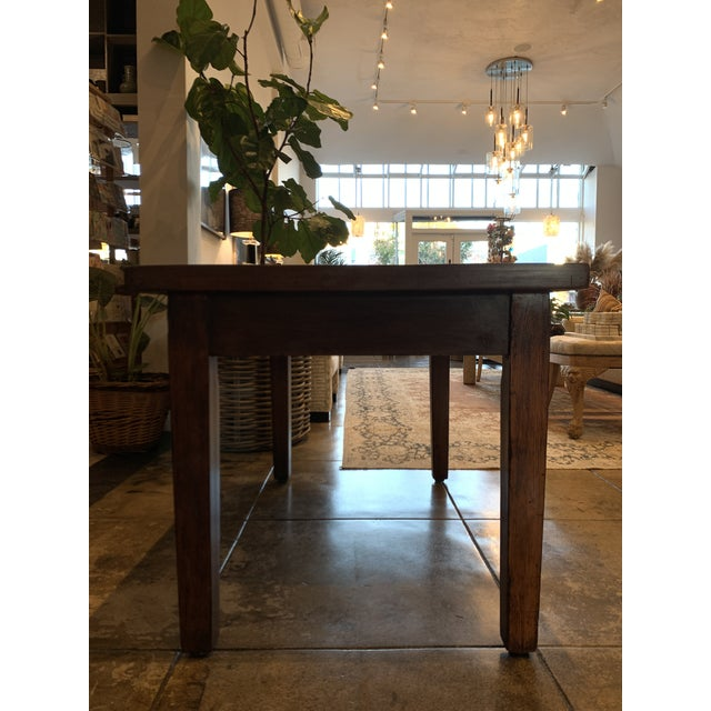 Antique Primitive Dining Table For Sale - Image 9 of 10