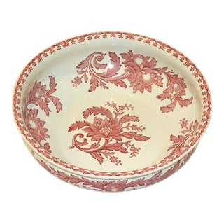 Sarreguemines French Wash Bowl For Sale