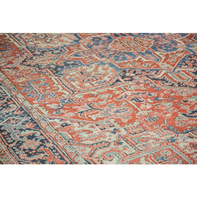 Vintage Heriz Carpet- 8′2″ × 11′ - Image 3 of 8