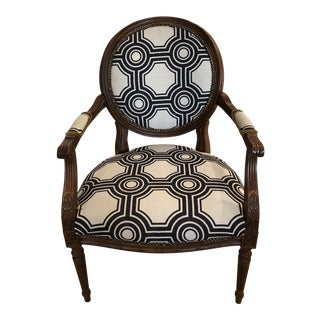 Ethan Allen Francesca Chair - Custom Upholstery For Sale
