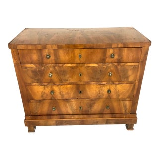 Early 19th Century Antique Louis Phillippe Chest of Drawers For Sale