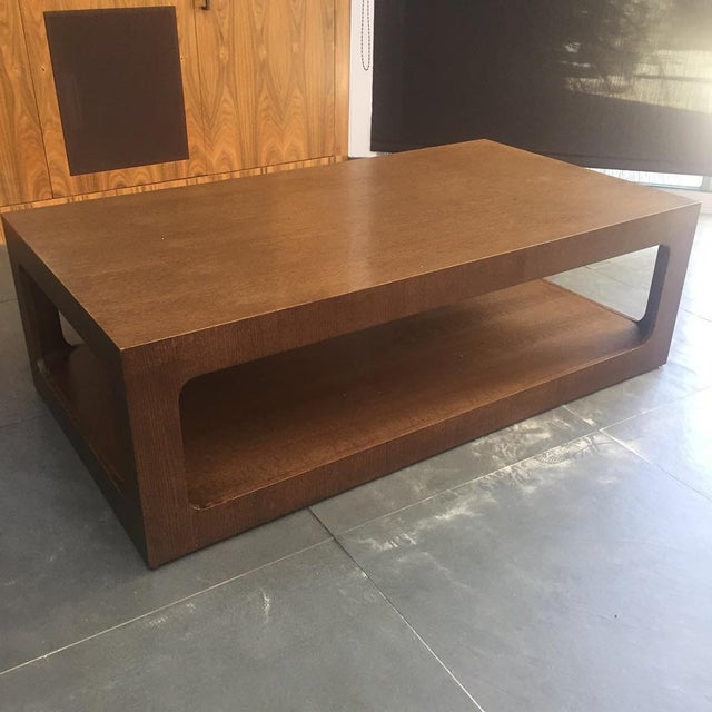 Modern Brown Coffee Table - Image 2 of 7