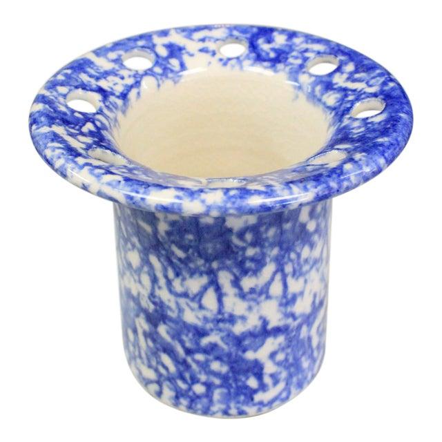 Spatterware Vase For Sale