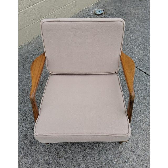 Mid-Century Ib Kofod-Larsen Danish Lounge Chair For Sale - Image 6 of 13