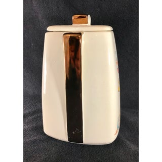 Stanford Sebring O. Mid Century Modern Multicolored Lidded Cookie Jar Preview