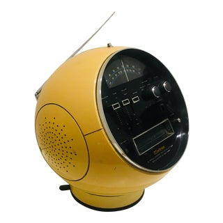 1970 Weltron Japan Space Age 360 Am/Fm Radio and 8 Track Player For Sale