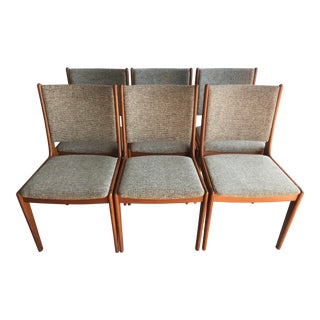 Scandinavia Woodwork Co Chairs - Set of 6 For Sale