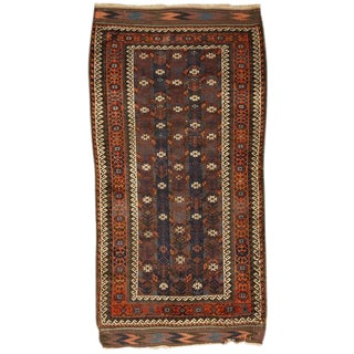 Antique 19th Century Baluch Rug For Sale