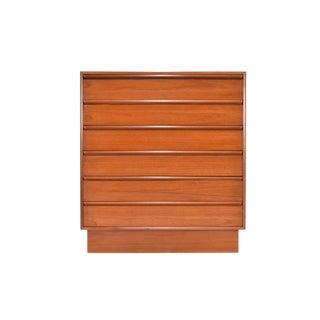 Danish Modern Teak Dresser by Westnofa For Sale