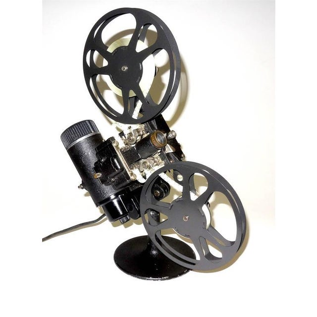 Art Deco Rare First Model 16MM Cinema Movie Projector Circa 1923. Display As Sculpture. For Sale - Image 3 of 10