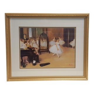 Dancing Class Framed Print by Degas For Sale