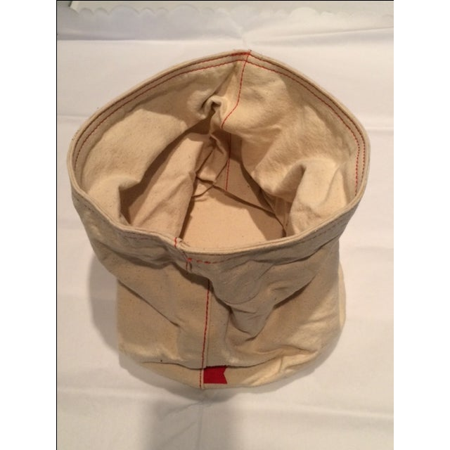 West Elm canvas cotton bread bag, made in Brooklyn, will give your table the country look. Whether you fill it up with...