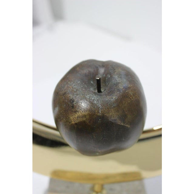 "Vintage Meloniski Bronze Sculpture ""Adamo Ed Eva"" For Sale - Image 9 of 13"
