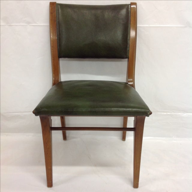 Early John Van Koert for Drexel Walnut Chair - Image 4 of 4