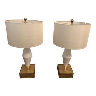 John Richard Lamps - a Pair For Sale