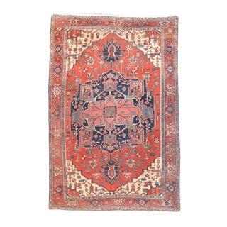 Persian Serapi Central Medallion Carpet - 8′5″ × 12′3″ For Sale