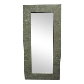 Rectangular Copper Wall Mirror