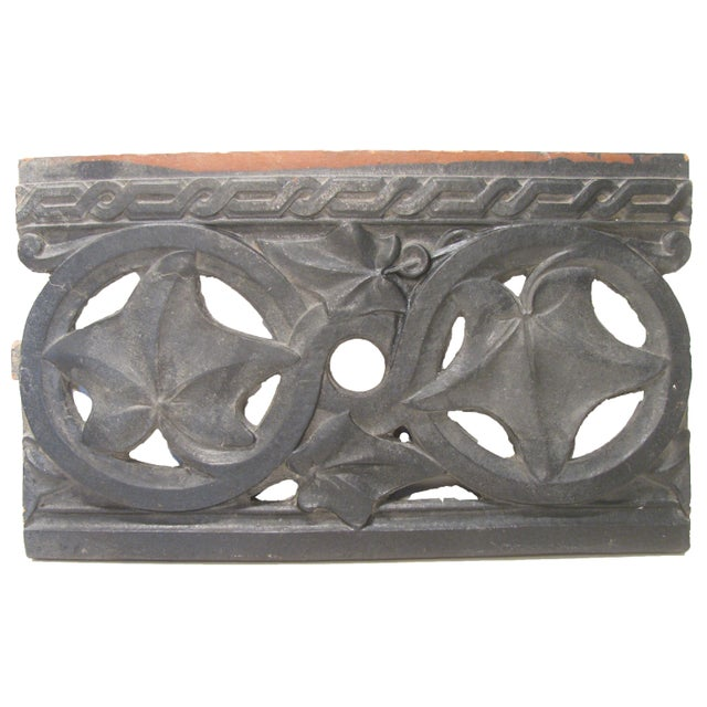 Antique French Terracotta Architectural Element For Sale - Image 4 of 4