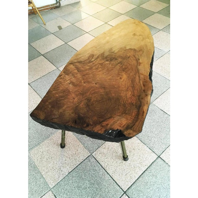 Big Tree Table by Carl Aubock, 1950s For Sale - Image 9 of 11
