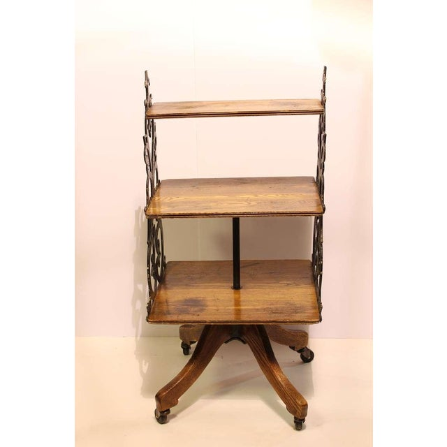 Antique Swing Department, Store Display Shelves/Bookcase - Image 4 of 4