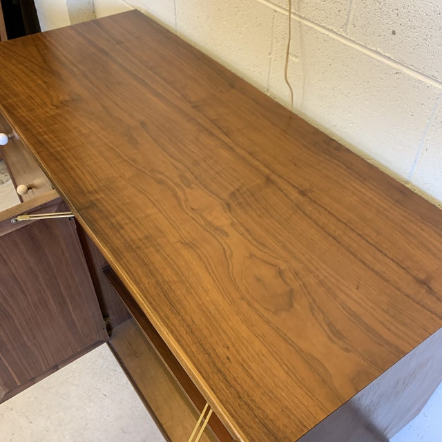 Brown Kipp Stewart for Drexel Credenza For Sale - Image 8 of 12