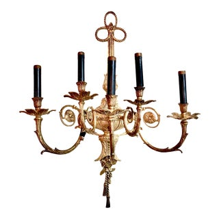 French Louis XV 5- Light Sconce For Sale