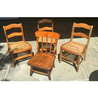 19th Century Children's Chairs - Set of 4 Preview
