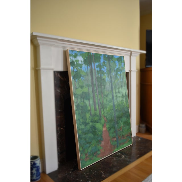 "Large Painting ""At the Edge of the Woods"" by Stephen Remick For Sale - Image 10 of 13"
