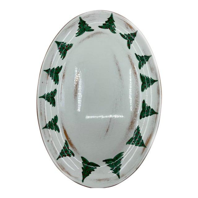 Marco & Cristina Italian Christmas Platter For Sale