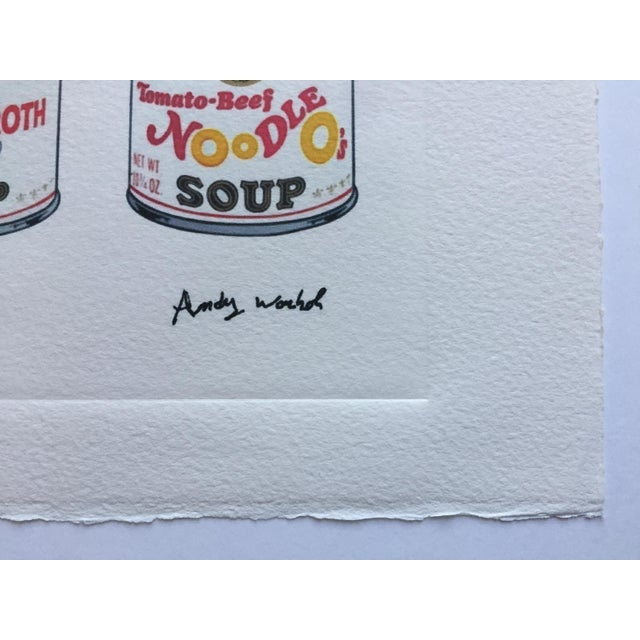 Andy Warhol Campbell's Soup Cans - Image 2 of 4