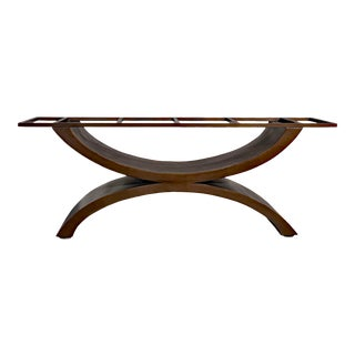 Metal Dining Table Base by Invictus Steelworks For Sale