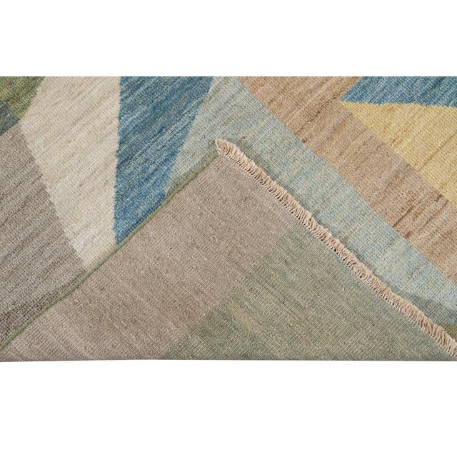 21st Century Modern Deco Wool Rug For Sale In New York - Image 6 of 11