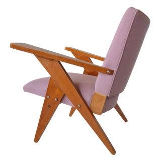 José Zanine Caldas Lounge Chair Brazilian Mid Century Modern For Sale