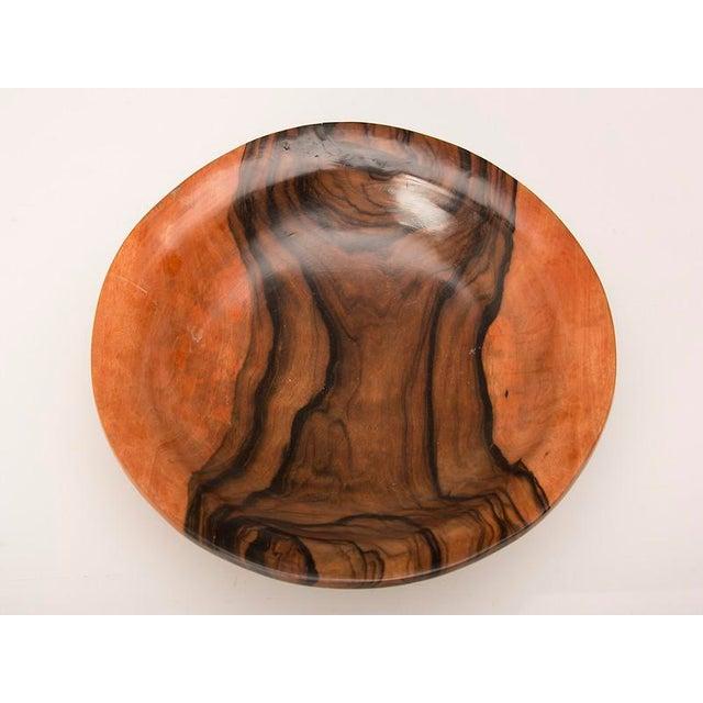 English Coromandel Wood Hand Made Bowl For Sale - Image 4 of 7