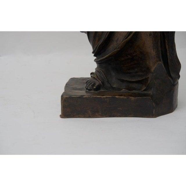Metal Antique F. Barbedienne Venus De Milo Bronze Sculpture For Sale - Image 7 of 11