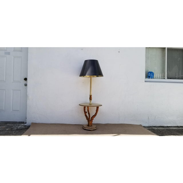 Neoclassical 1950s Italian Neoclassical Venetian Style Table Floor Lamp For Sale - Image 3 of 12