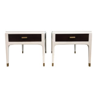 Lane Mid-Century Modern Side Tables - A Pair