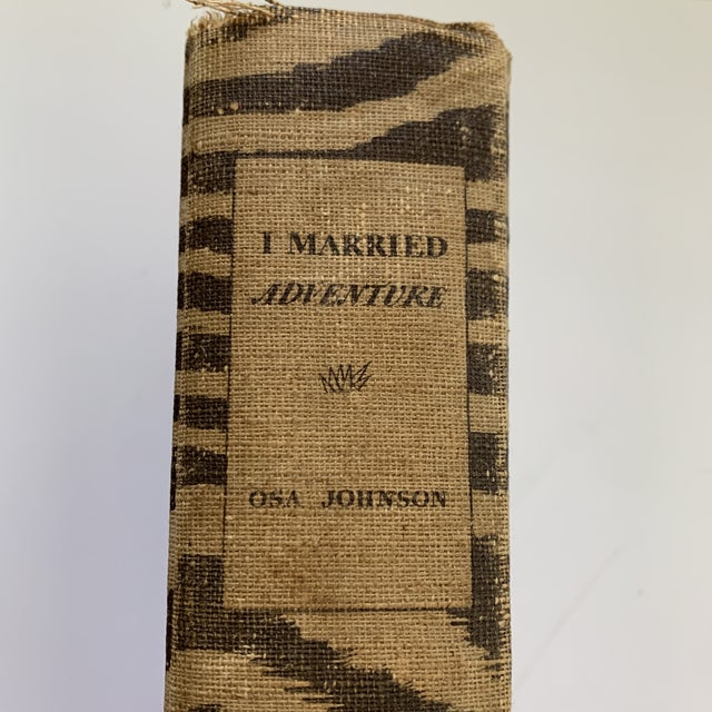 Paper Antique Book I Married Adventure For Sale - Image 7 of 13