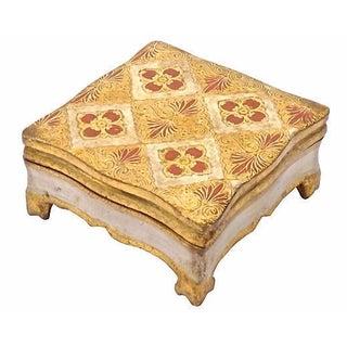 Vintage Florentine-Style Lidded Box