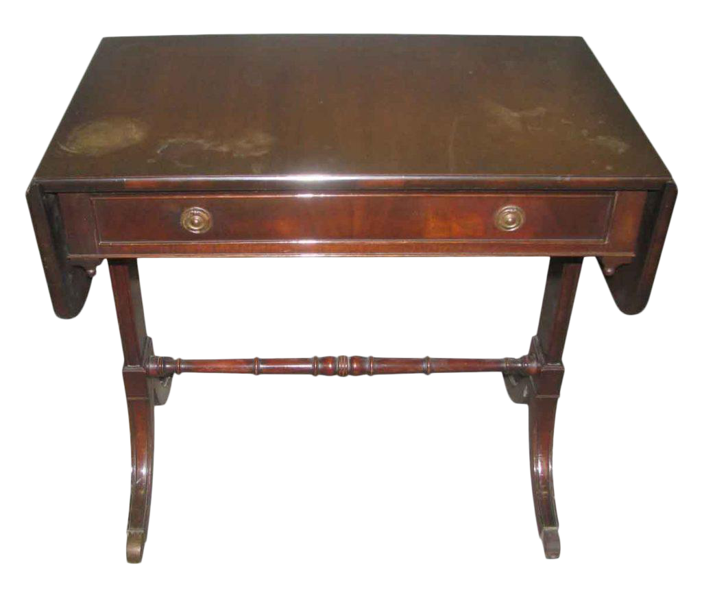 Duncan Phyfe Occasional Drop Leaf Table