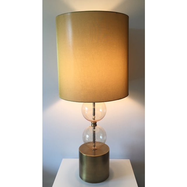 Arteriors Gold Seeded Glass Lamp - Image 7 of 7