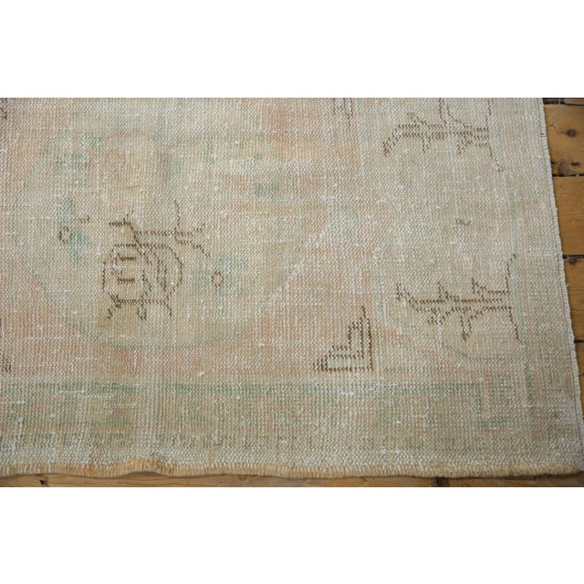 "1950s Vintage Distressed Oushak Rug - 2'9"" X 4'1"" For Sale - Image 5 of 8"
