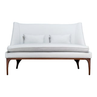 1960s Mid-Century Modern Lawrence Peabody Settee For Sale