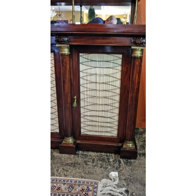 Early 19c English Chiffonier in the Manner of Gillows For Sale - Image 12 of 13