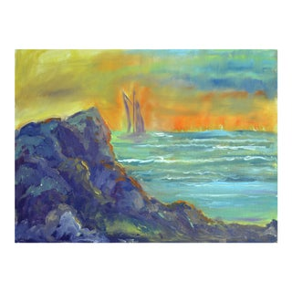 Sailboat Sunset For Sale