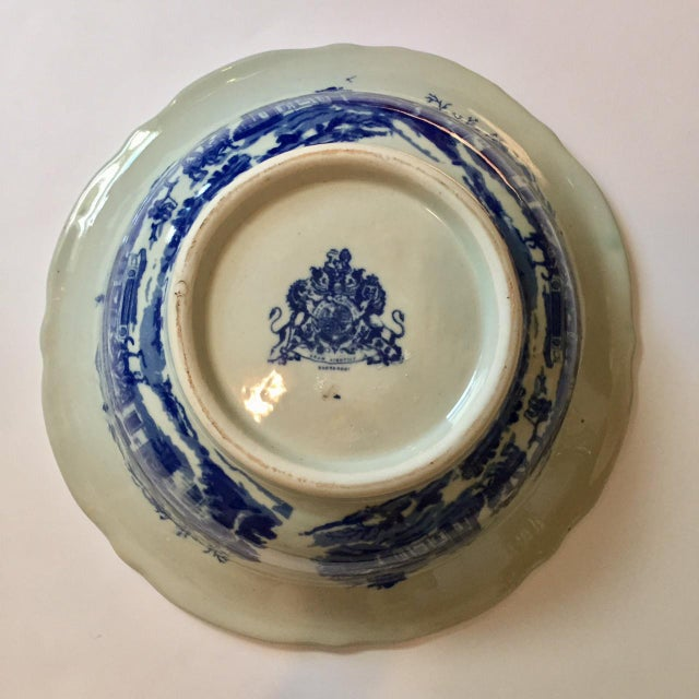 Victoria Ware Blue Town Ironstone Bowl - Image 6 of 6