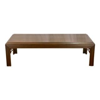 Vintage Mahogany Lane Altavista Chippendale Coffee Table For Sale